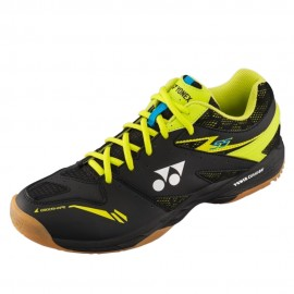 Chaussures Yonex Power Cushion 55 men noires et jaunes