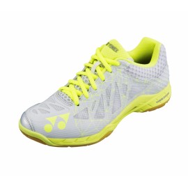 Chaussures Yonex Power Cushion Aerus 2 lady grises et jaunes