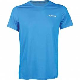 Tee-shirt Babolat Core Flag Club men bleu 2018