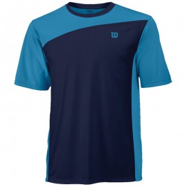 Tee-shirt Wilson Rush Colorblock men bleu