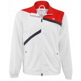 Jacket Wilson Rush Woven men blanche et rouge
