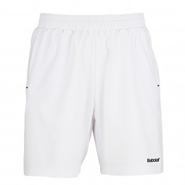 Short Babolat Match Core men blanc