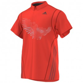 Polo Adidas BT Graphic FW14 men solar rouge