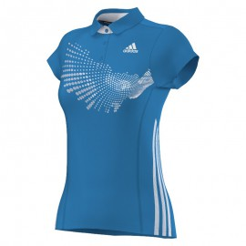 Polo Adidas BT Graphic FW14 women solar bleu