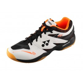 Chaussures Yonex Power Cushion 55 men blanches et orange