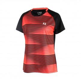 Tee-shirt Forza Denver women noir et rouge