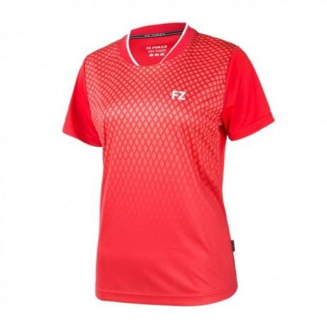 Tee-shirt Forza Satara women rouge