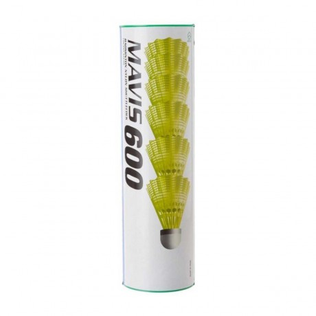 Volants plastique Yonex Mavis 600 jaunes
