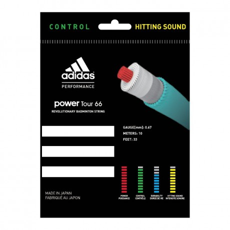 Bobine de cordage Adidas Power Tour 66
