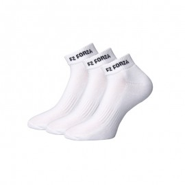 Chaussettes Forza FZ Comfort Short X3 blanches