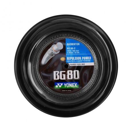 Bobine de cordage Yonex BG 80 noir