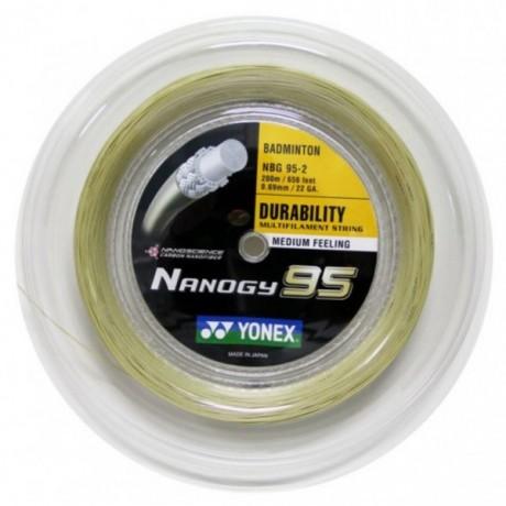 Bobine de cordage Yonex Nanogy 95