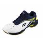 Chaussures Yonex Power Cushion 65Z Wide men blanches et bleues