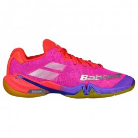 Chaussures Babolat Shadow Tour women 2018 rose