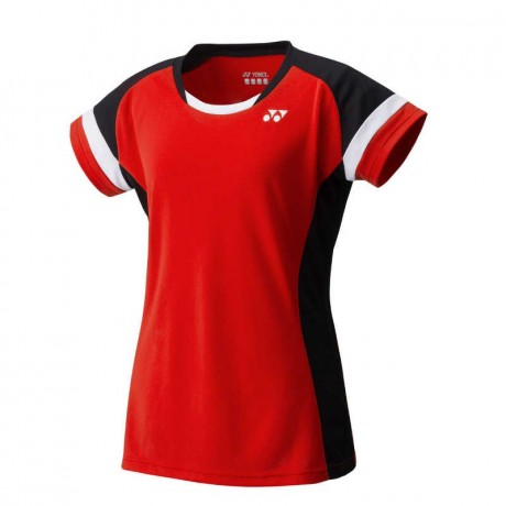 Tee-shirt Yonex Team women YW0001 rouge