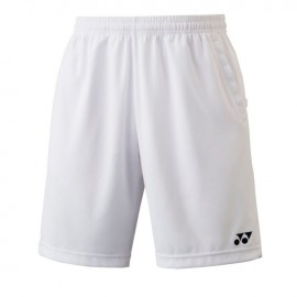 Short Yonex Team men YM0004 blanc
