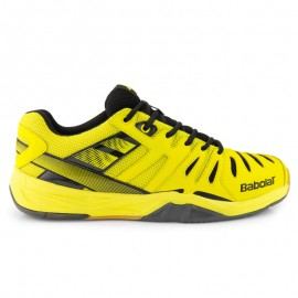 Chaussures Babolat Shadow Club junior jaunes