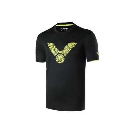 Tee-shirt Victor T-70026 noir