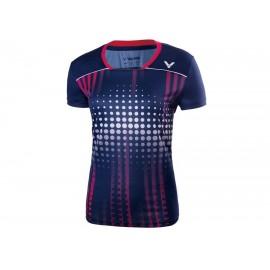 Tee-shirt Victor T-76006 women bleu