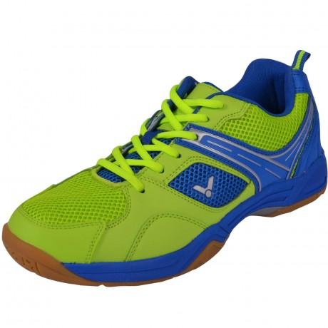 Chaussures Victor V-370 men vert citron et bleues