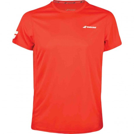 Tee-shirt Babolat Core Flag Club men rouge 2018