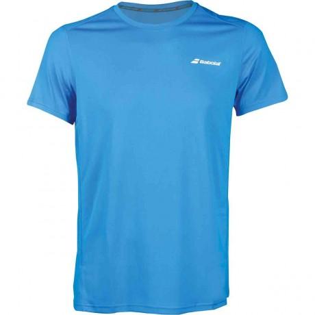 Tee-shirt Babolat Core Flag Club men bleu 2018