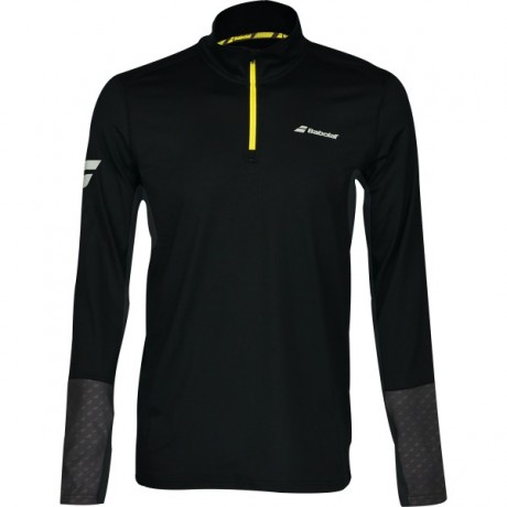 Veste à demi-zip Babolat Core Club men noire 2018