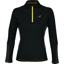Veste à demi-zip Babolat Core Club women noire 2018