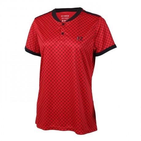 Tee-shirt Forza Brooklyn women rouge