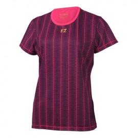 Tee-shirt Forza Bergana noir et rose