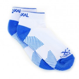 Chaussettes Karakal Trainer Lady blanches/bleues