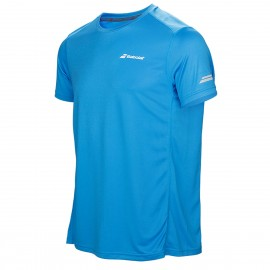 Tee-shirt Babolat Core Flag Club boy bleu