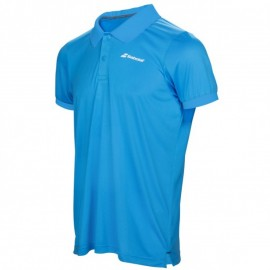 Polo Babolat Core Flag Club boy bleu