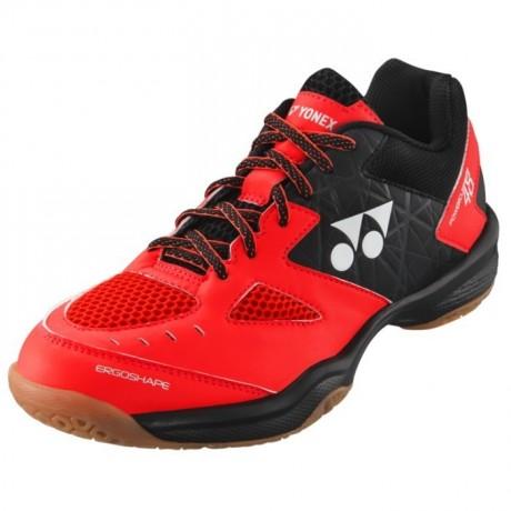 Chaussures Yonex Power Cushion 48 rouge et noire