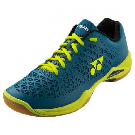 Chaussures Yonex Power Cushion Eclipsion X turquoise et jaune