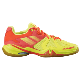 Chaussures Babolat Shadow Spirit women 2019 jaune
