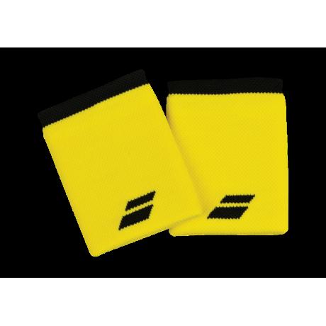 Poignets éponge Babolat Jumbo X2 jaunes