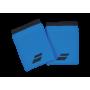 Poignets éponge Babolat Jumbo X2 bleus