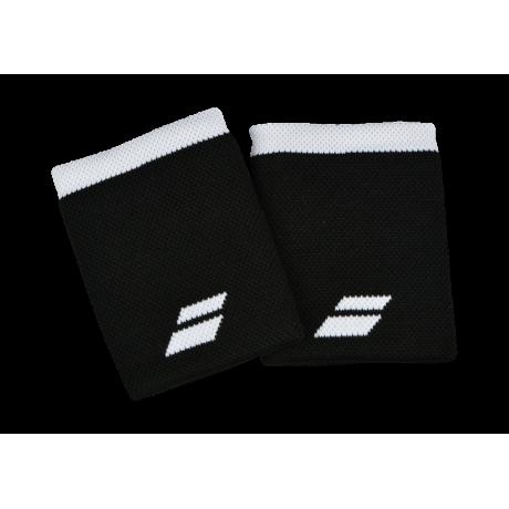 Poignets éponge Babolat Jumbo X2 noirs