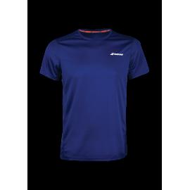 Tee-shirt Babolat Core Flag Club men 2019 marine