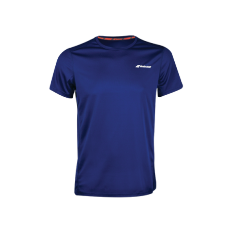 Tee-shirt Babolat Core Flag Club men 2019 marine