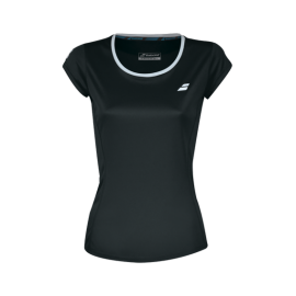 Tee-shirt Babolat Core Flag Club lady 2019 noir