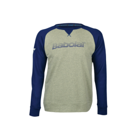 Sweat-shirt Babolat Core men 2019 gris chiné
