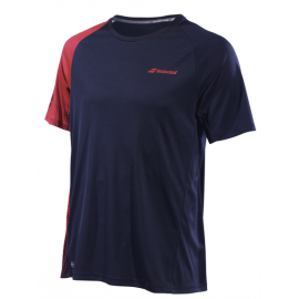 Tee-shirt Babolat Perf Crew Neck men 2019 noir