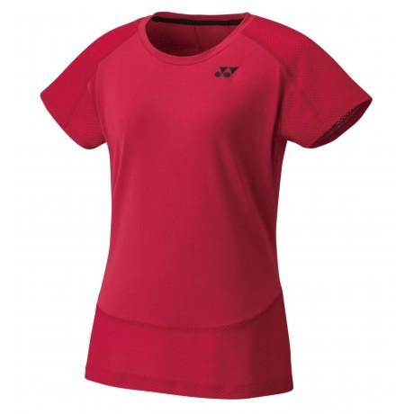 Tee-shirt Yonex 20478EX lady rouge