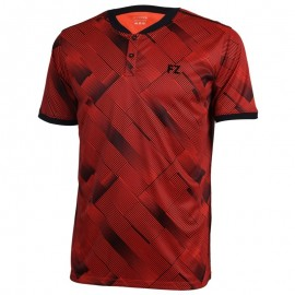 Polo Forza Hercules men rouge et noir