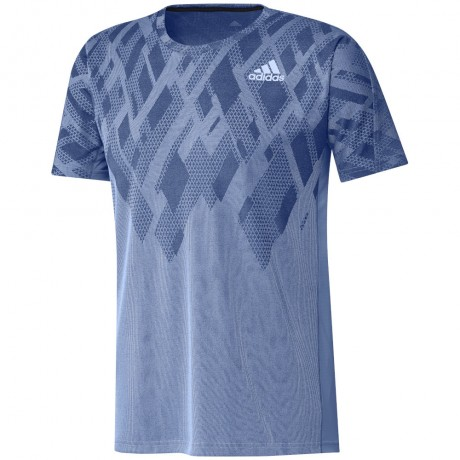Tee-shirt adidas Colorblock men bleu