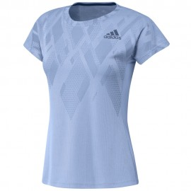 Tee-shirt adidas Colorblock women bleu