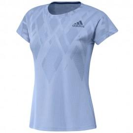 Tee-shirt adidas Colorblock women bleu