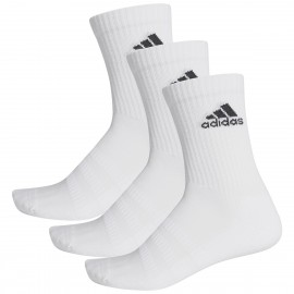 Chaussettes adidas Cushion Crew X3 mid blanches